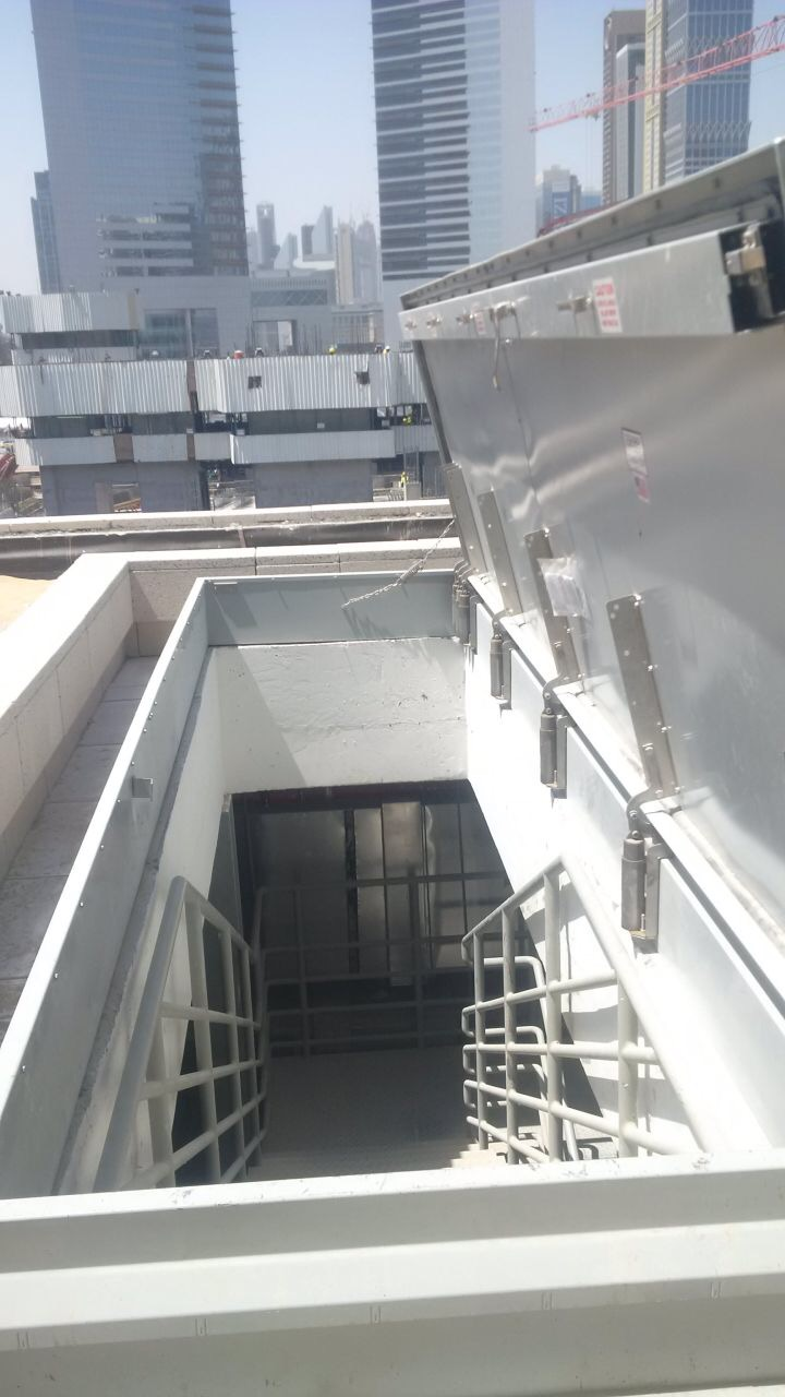 Dubai World Trade Center Features Nystrom Roof Hatches – Nystrom