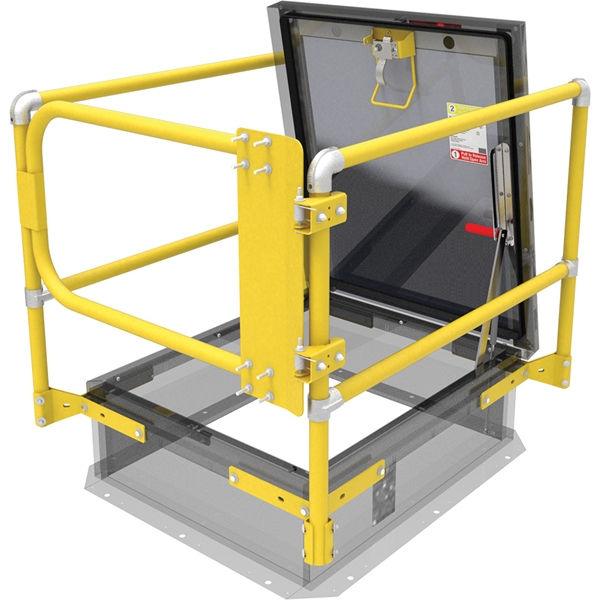 5 Ways To Add Fall Protection To Your Roof Hatch Nystrom